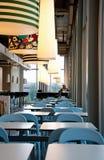 Restaurant vide dans la mémoire d'Ikea photos libres de droits