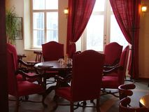 Restaurant view royalty free stock photos