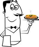 Restaurant waiter Royalty Free Stock Photography
