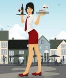 Restaurant waiter Royalty Free Stock Image