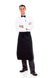 Waiter studio portrait Stock Photography