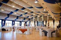 Restaurant for wedding Stock Image