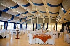 Restaurant for wedding Royalty Free Stock Photos