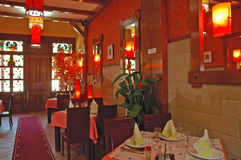 Restaurant02 cinese Fotografie Stock Libere da Diritti