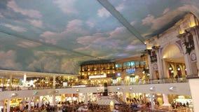 Restaurantbereich in einem Einkaufszentrum Lizenzfreies Stockfoto