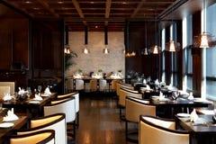 Restaurantbinnenland Royalty-vrije Stock Foto's