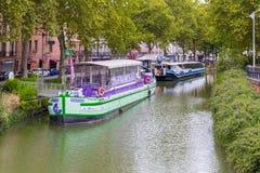 Restaurantboot Lamaison de la Violette Lizenzfreie Stockfotografie
