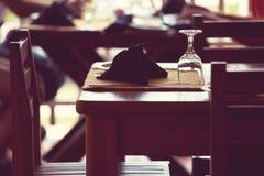 Restaurantdecor Stock Foto