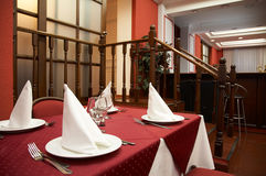 Restaurante. Foto de Stock Royalty Free