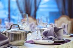 Restaurante Fotos de archivo libres de regalías