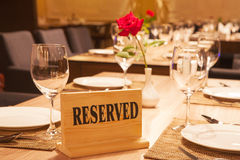restaurante Foto de archivo