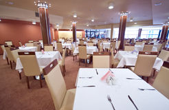 Restaurante abandonado Imagem de Stock Royalty Free
