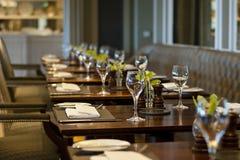 Restaurante acolhedor Imagem de Stock Royalty Free