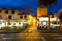 Restaurante afuera Imagen de archivo