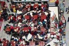 Restaurante aglomerado foto de stock royalty free