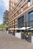 Restaurante al aire libre fotografía de archivo