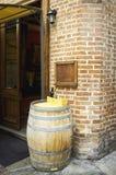 Restaurante al aire libre Imagen del color Imagen de archivo libre de regalías