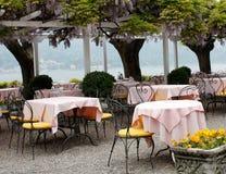 Restaurante ao ar livre Foto de Stock