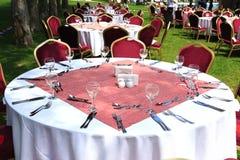 Restaurante ao ar livre Imagem de Stock Royalty Free