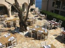 Restaurante ao ar livre Fotos de Stock