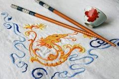 Restaurante asiático Imagem de Stock Royalty Free