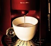 Restaurante automático de Cofee Fotografia de Stock Royalty Free