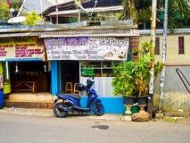 Restaurante barato em Jakarta, Indonésia Foto de Stock