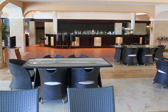 Restaurante, barra & restaurantes Fotografia de Stock