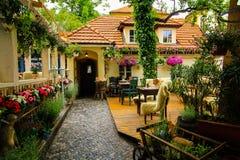 Restaurante bonito Foto de Stock Royalty Free