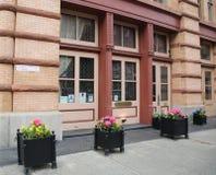 Restaurante Bouley da estrela de Micheline na vizinhança de Tribeca Imagens de Stock Royalty Free