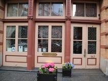 Restaurante Bouley de la estrella de Micheline en la vecindad de Tribeca Imagen de archivo libre de regalías