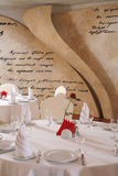 Restaurante branco interior Foto de Stock