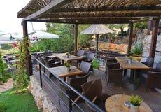 Restaurante & café Imagem de Stock Royalty Free