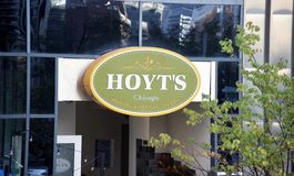 Restaurante Chicago do ` s de Hoyt, IL fotografia de stock royalty free