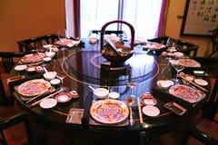 Restaurante chinês Imagem de Stock Royalty Free