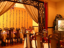 Restaurante chinês Foto de Stock Royalty Free