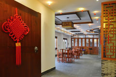Restaurante chinês Foto de Stock Royalty Free