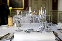 Restaurante - cierre clásico del vector de cena para arriba Imagen de archivo