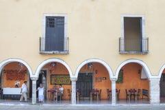 Restaurante colonial do mexicano do estilo foto de stock royalty free