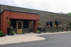Restaurante com café ao ar livre Foto de Stock