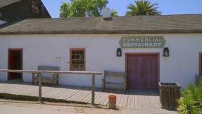 Restaurante comercial na cidade velha San Diego Historic State Park - SAN DIEGO/CALIFÓRNIA - 22 de abril de 2017 filme