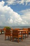 Restaurante costero Fotos de archivo libres de regalías