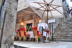 Restaurante Cosy foto de stock royalty free