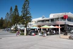Restaurante da casa de praia do ` s do banhista Imagem de Stock