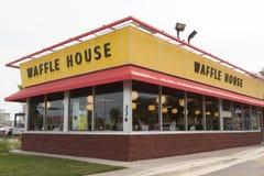 Restaurante da casa do waffle Fotografia de Stock