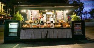 Restaurante da rua Imagem de Stock