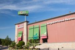 Restaurante de Applebees en Kuwait Foto de archivo libre de regalías