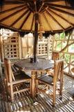 Restaurante de bambú Fotografía de archivo libre de regalías
