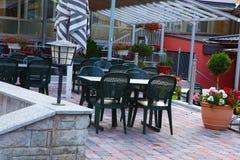 Restaurante de borda da estrada suíço Imagem de Stock