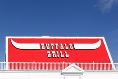 Restaurante de Buffalo Grill en Francia fotografía de archivo